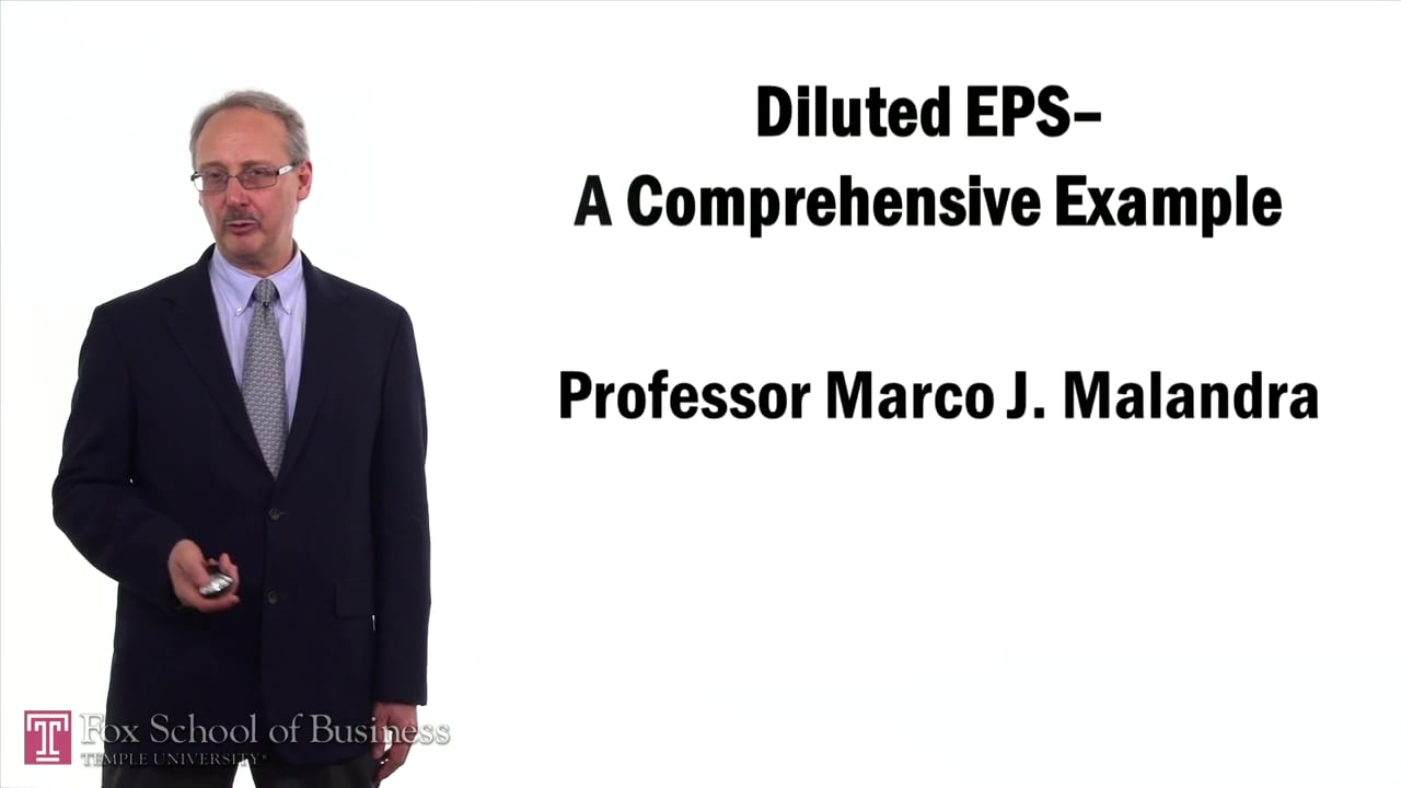 57391Diluted Earnings Per Share – Comprehensive Example