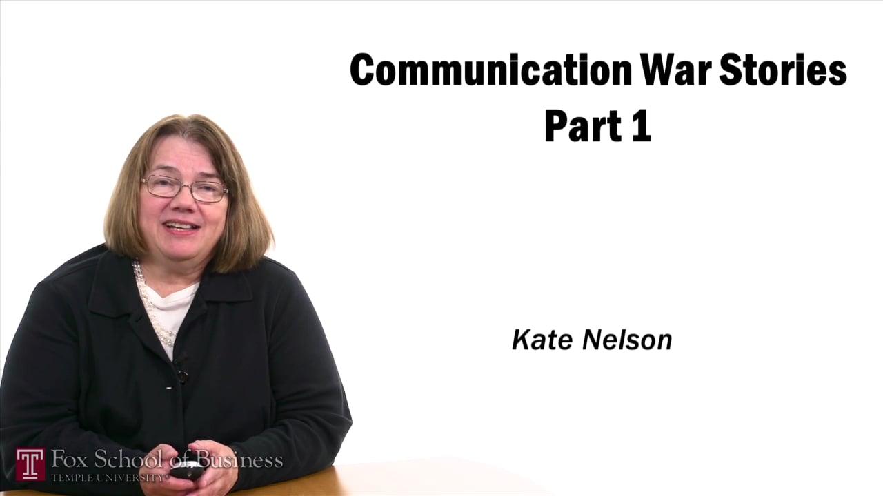 57388Communication War Stories I