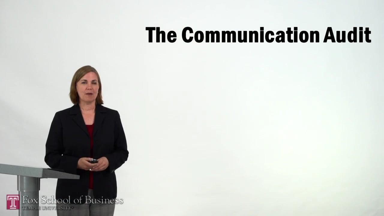 57342The Communication Audit