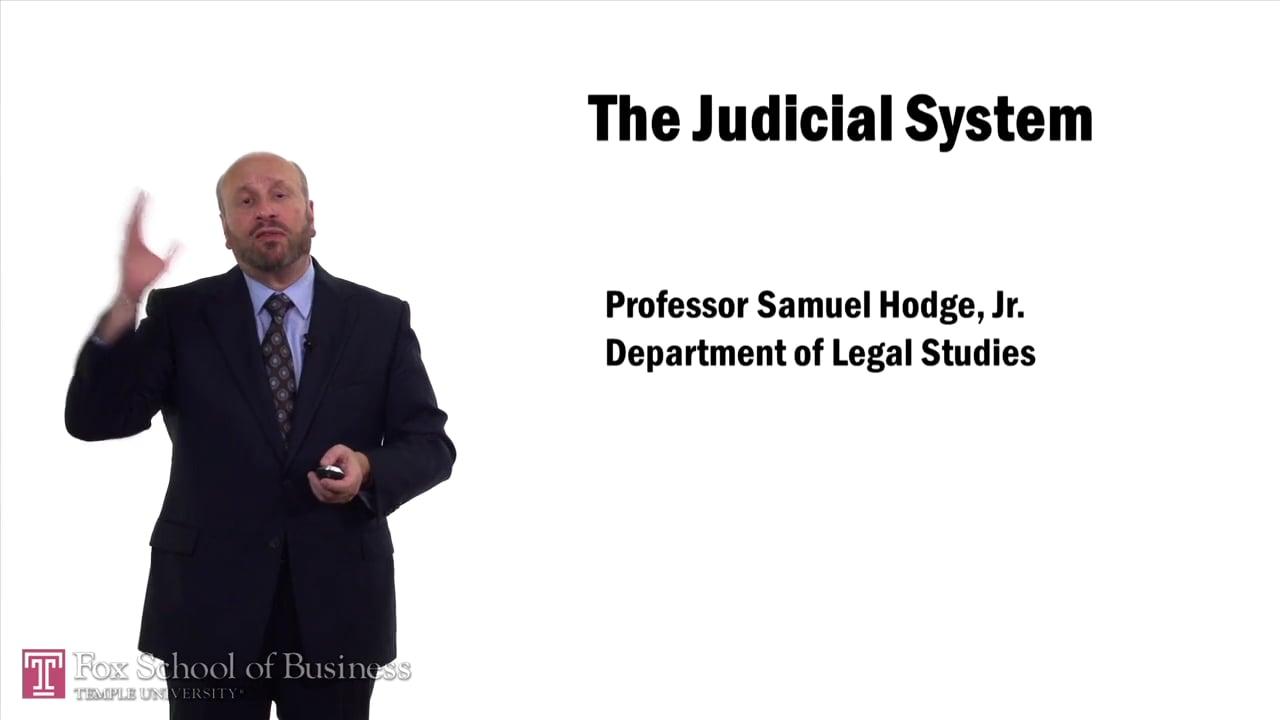 57584The Judicial System