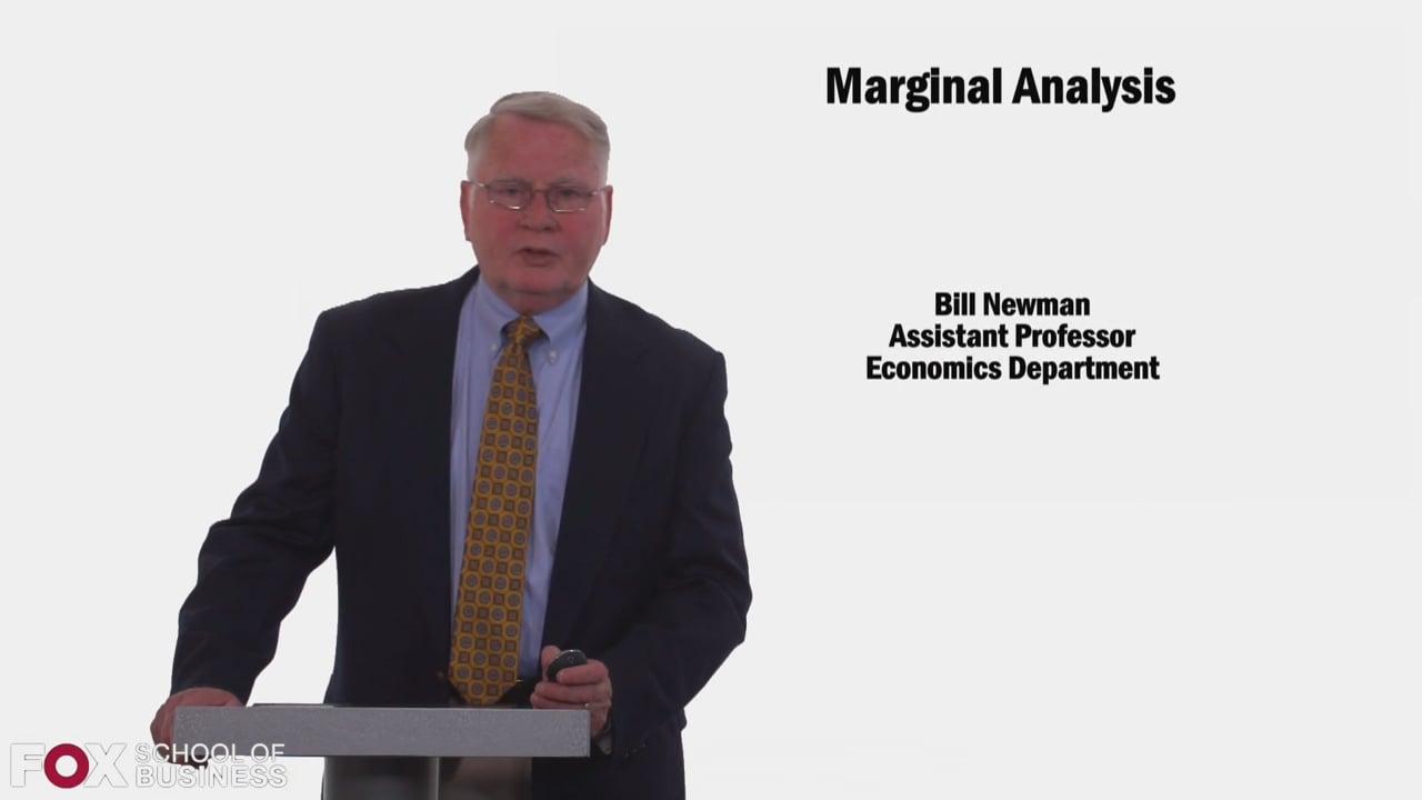 58491Marginal Analysis
