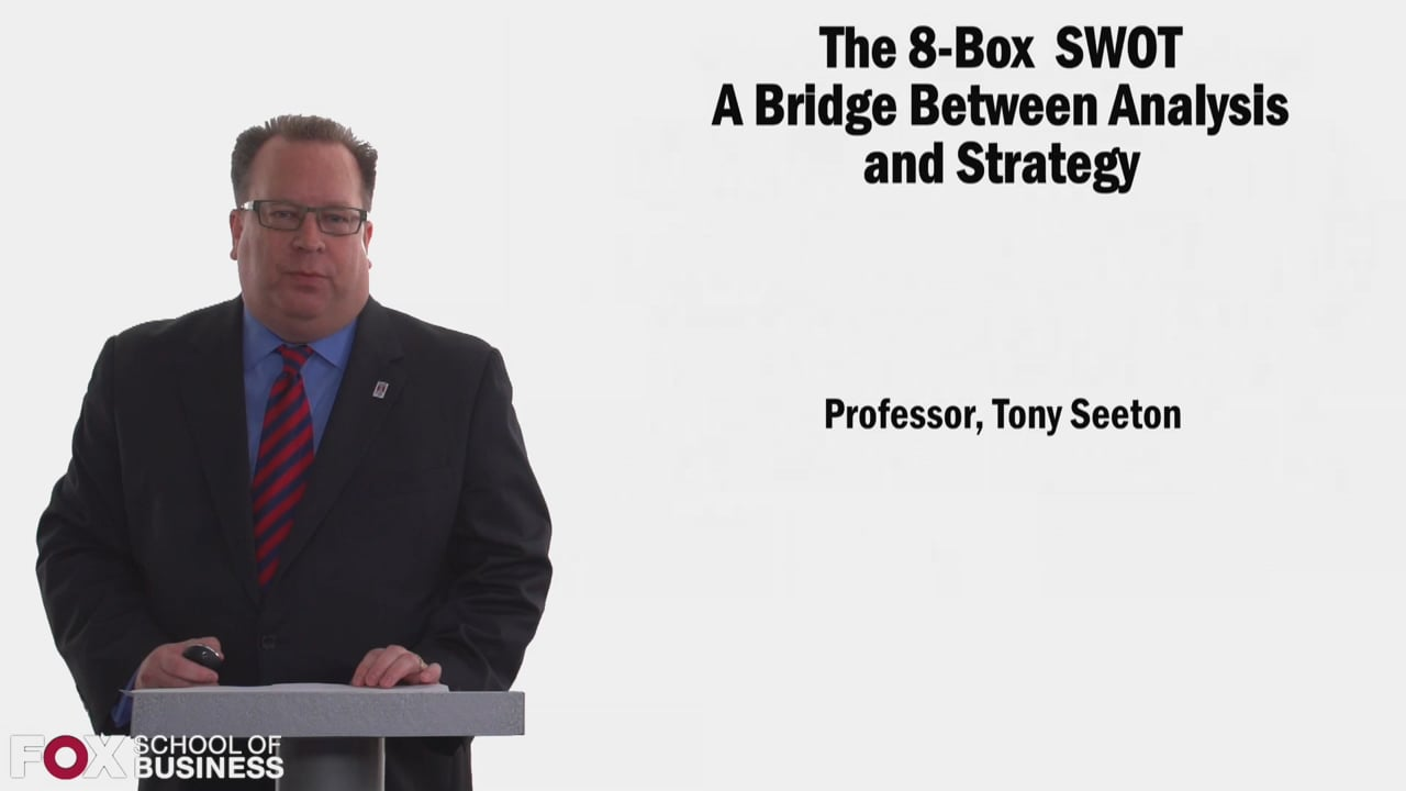 58360The 8-Box SWOT A Bridge Between Analysis and Strategy