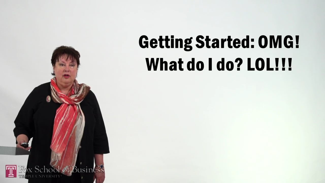 57298Getting Started – What do I do
