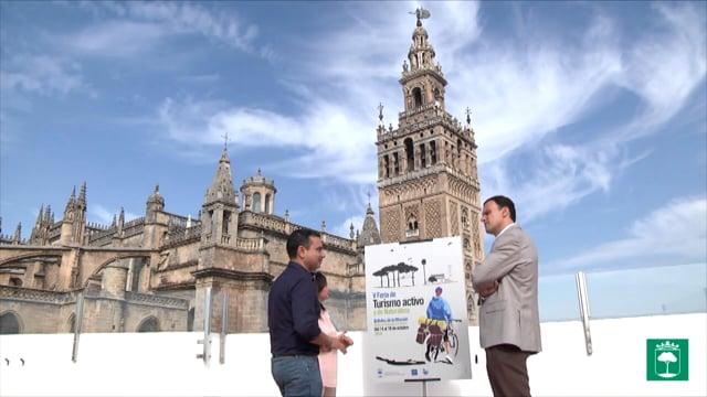 Presentación en la Casa de la Provincia de Sevilla de la V Feria de Turismo Activo y de la Naturaleza.