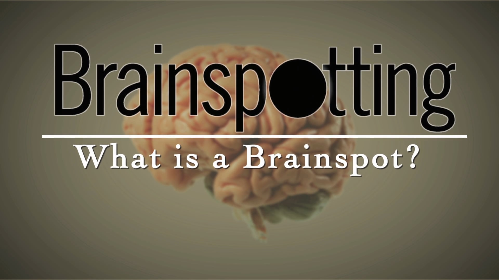 What is a Brainspot?