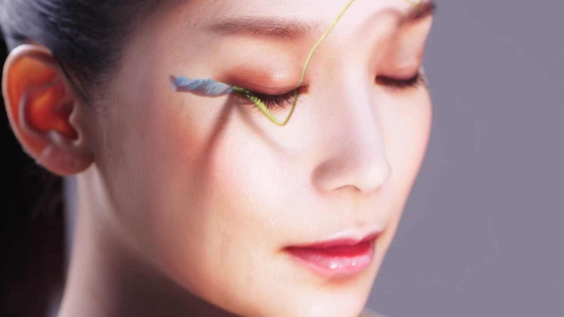 花鳥風月 [kacho-fugetsu] / real-time face tracking and projection mapping