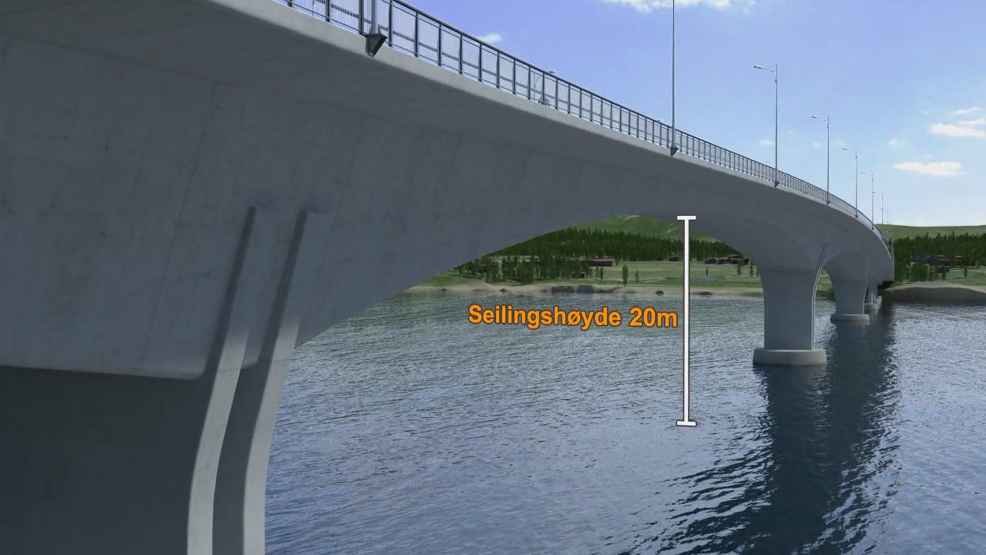 Rv 80 Tverland bridge, Bodø, Norway 2011