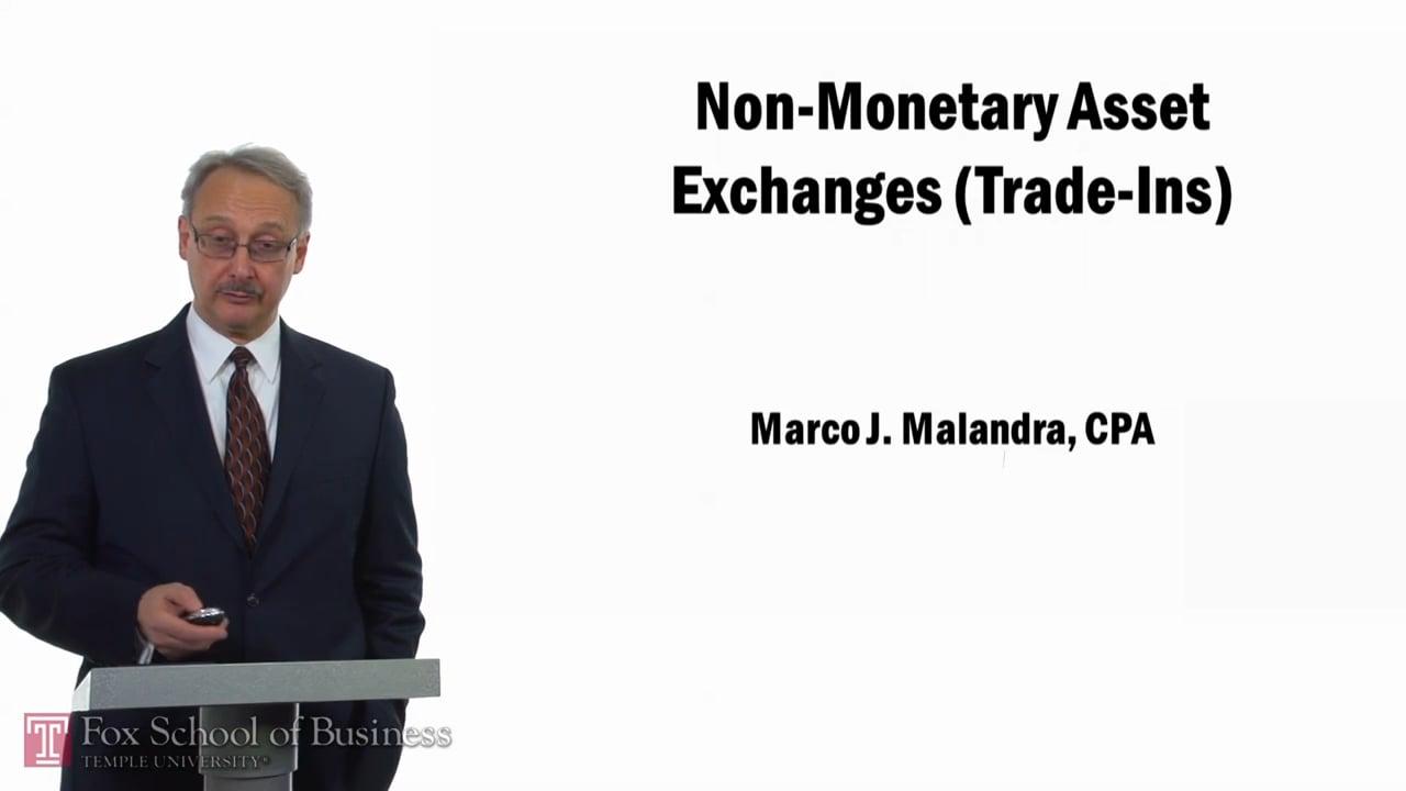 57761Non-Monetary Asset Exchanges