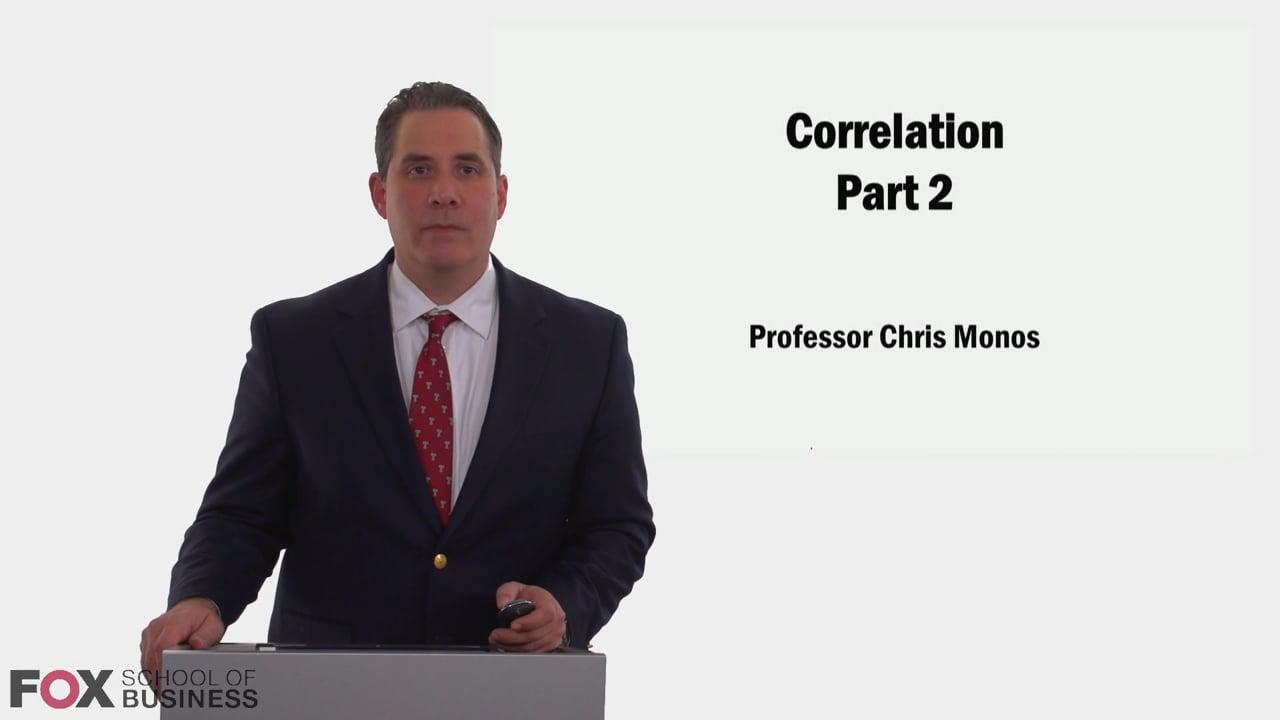 58988Correlation II