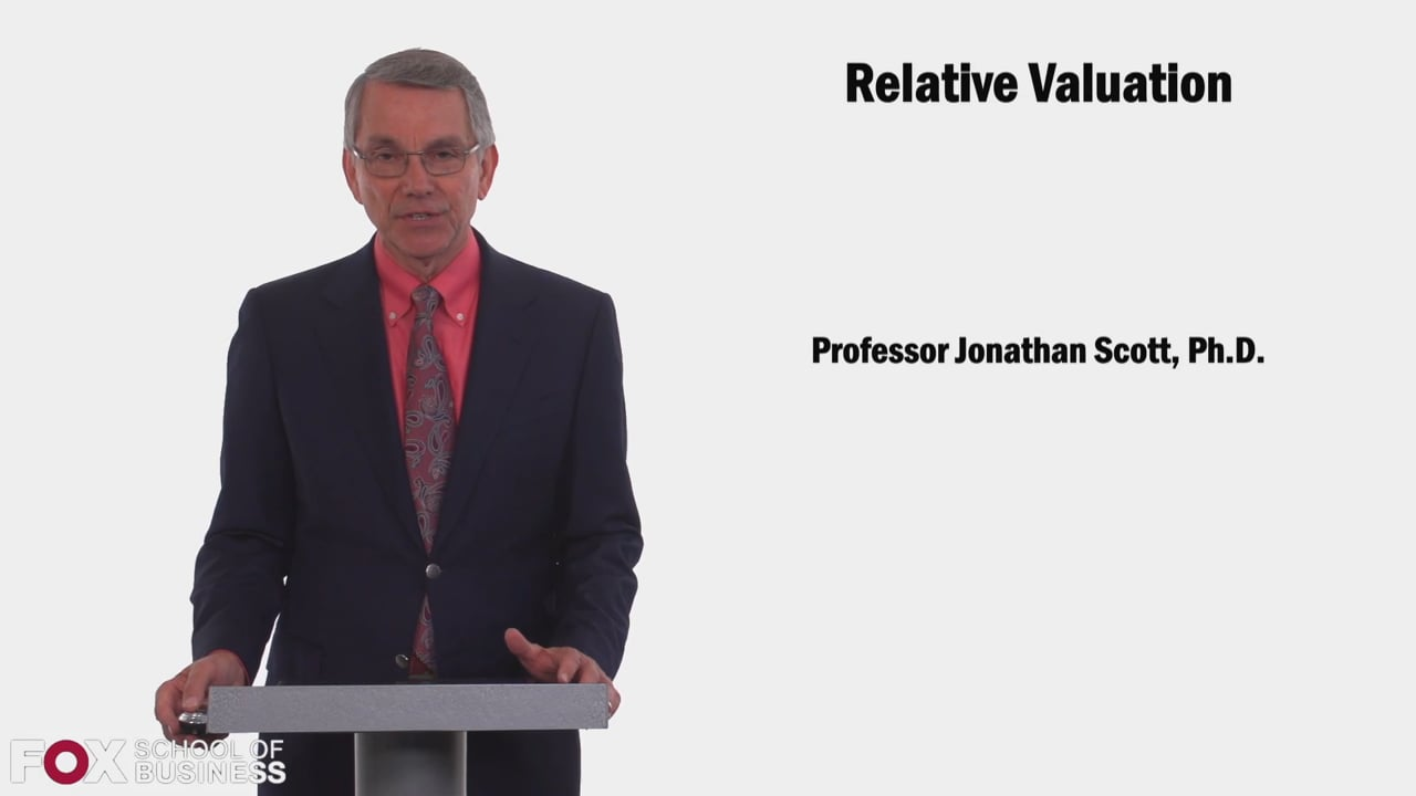 58603Relative Valuation