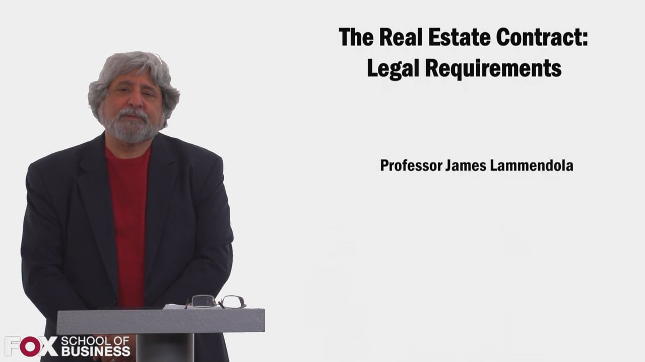 58541The Real Estate Contract Part 1