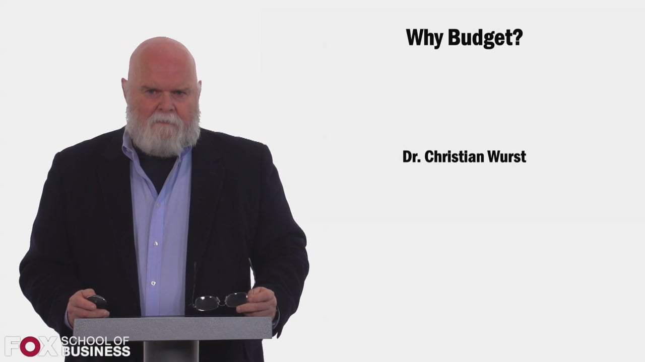 58487Why Budget