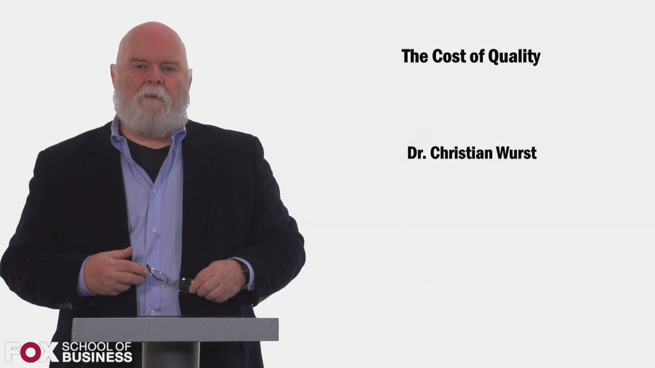58478The Cost of Quality