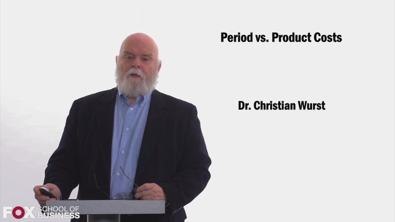 58464Period vs Product Cost