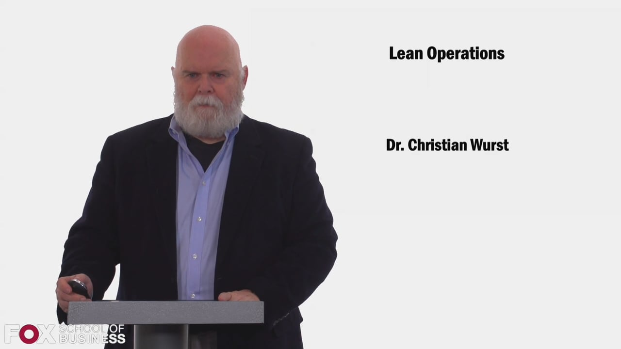 58461Lean Operations