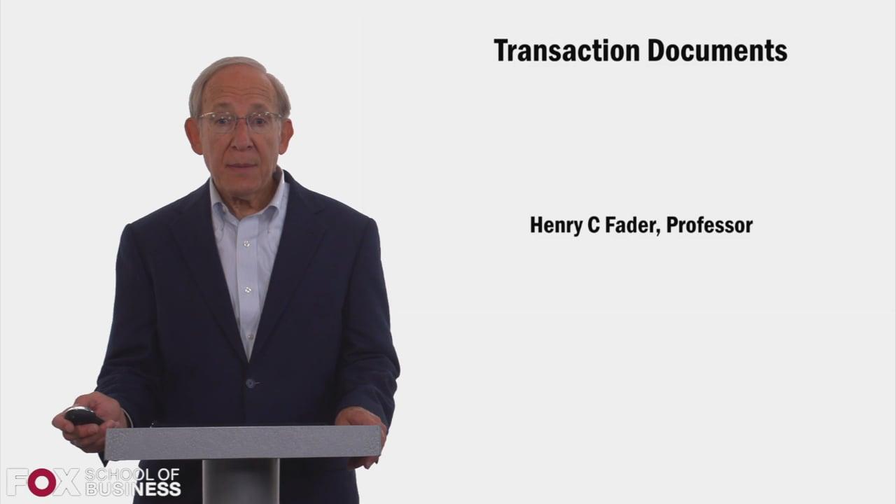 58415Transaction Documents