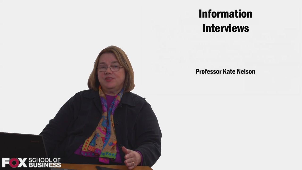 58593Information Interviews