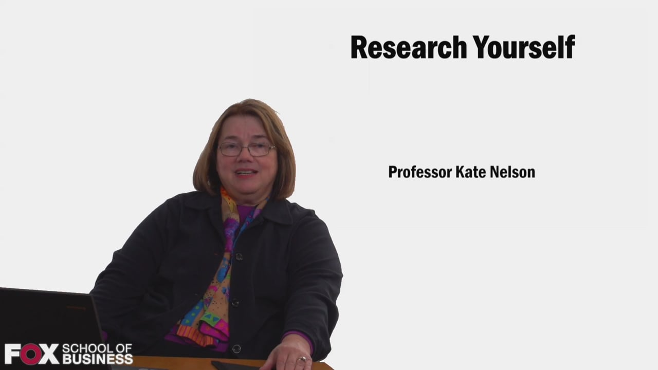 58592Research Yourself
