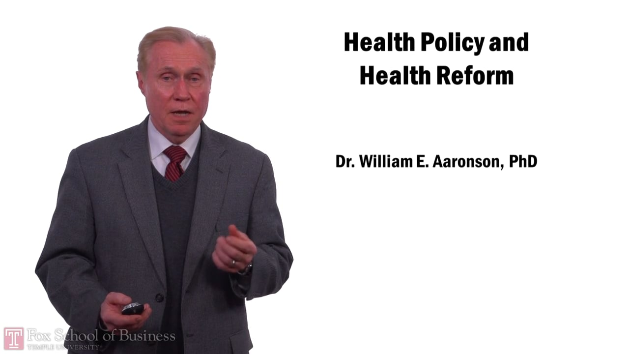 57953Health Policy and Health Reform