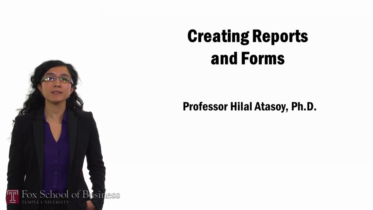 57764Creating Reports and Forms