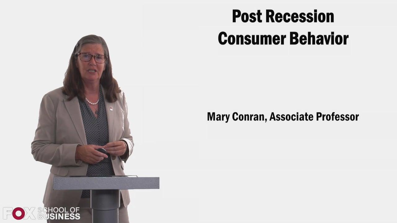 58385Post Recession Consumer Behavior