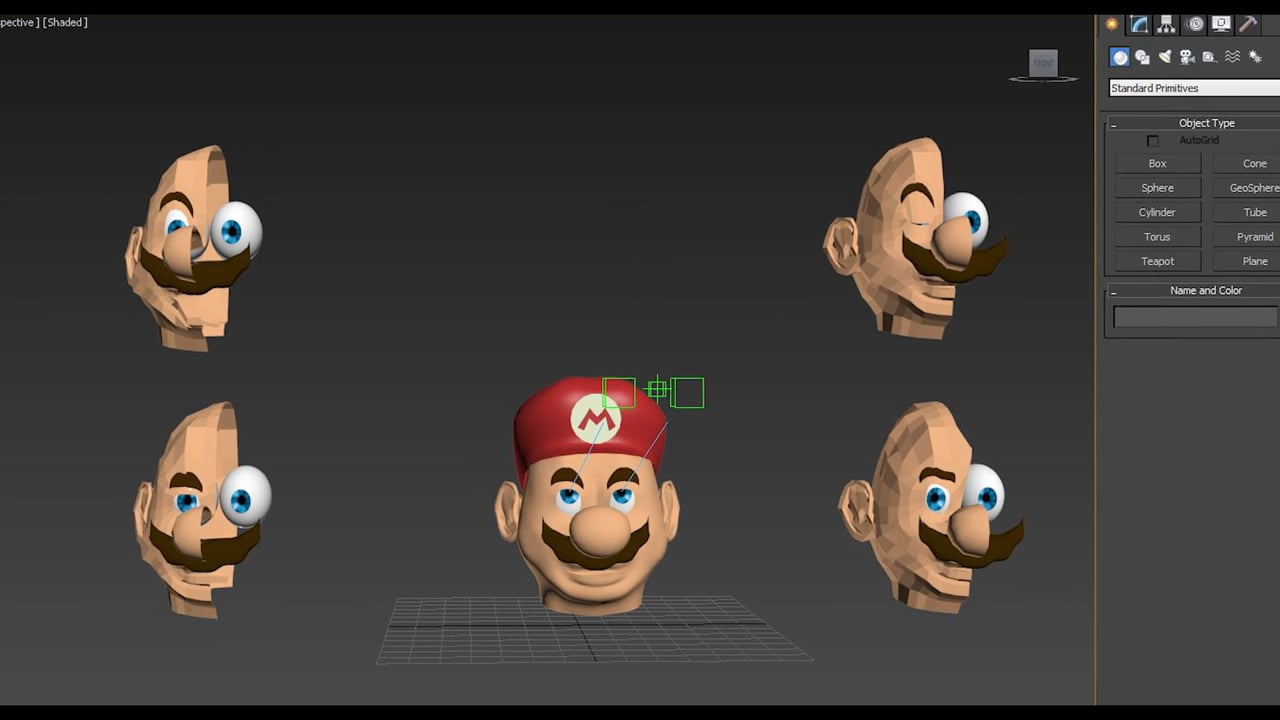 Mario 3D Character