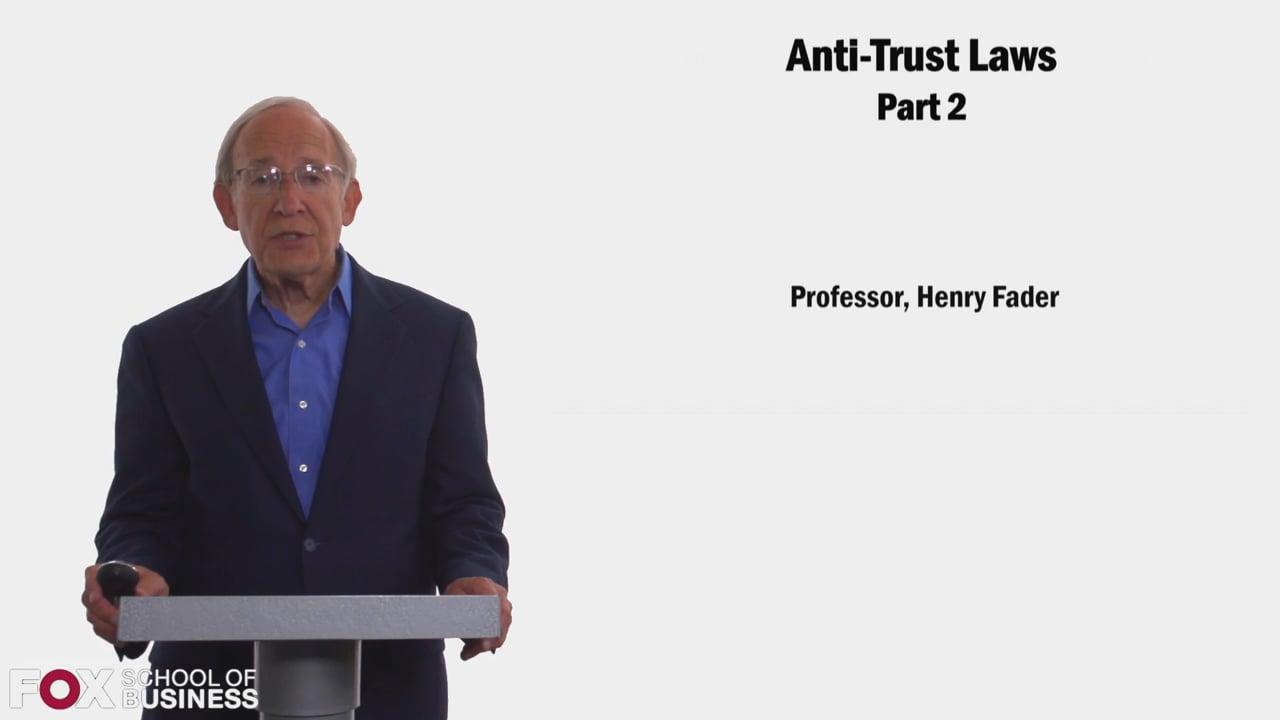 58395Anti-Trust Laws Part 2