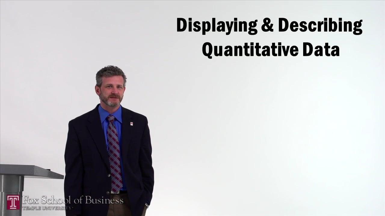 57159Displaying and Describing Quantitative Data