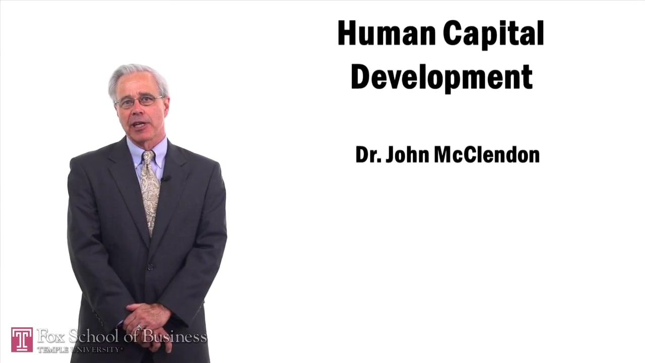 57459Human Capital Development