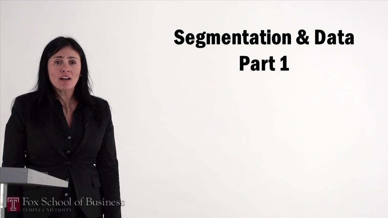 57082Segmentation and Data I