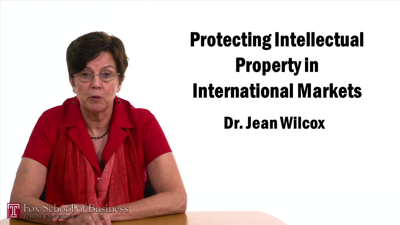 57433Protecting Intellectual Property in International Markets II