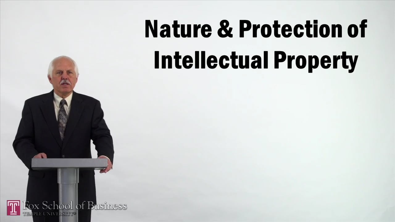 57140Nature and Protection of Intellectual Property