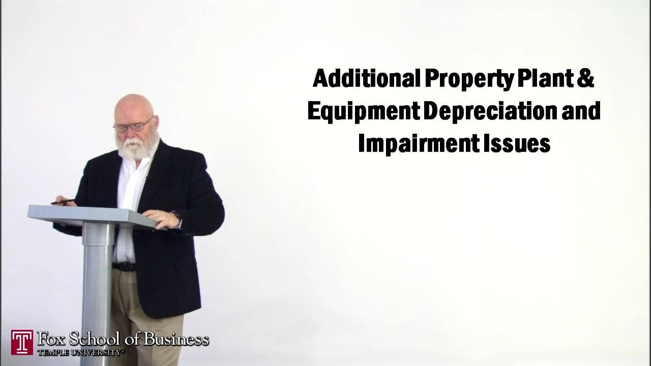 57153Additional Property Plant and Equipment Depreciation Impairment Issues