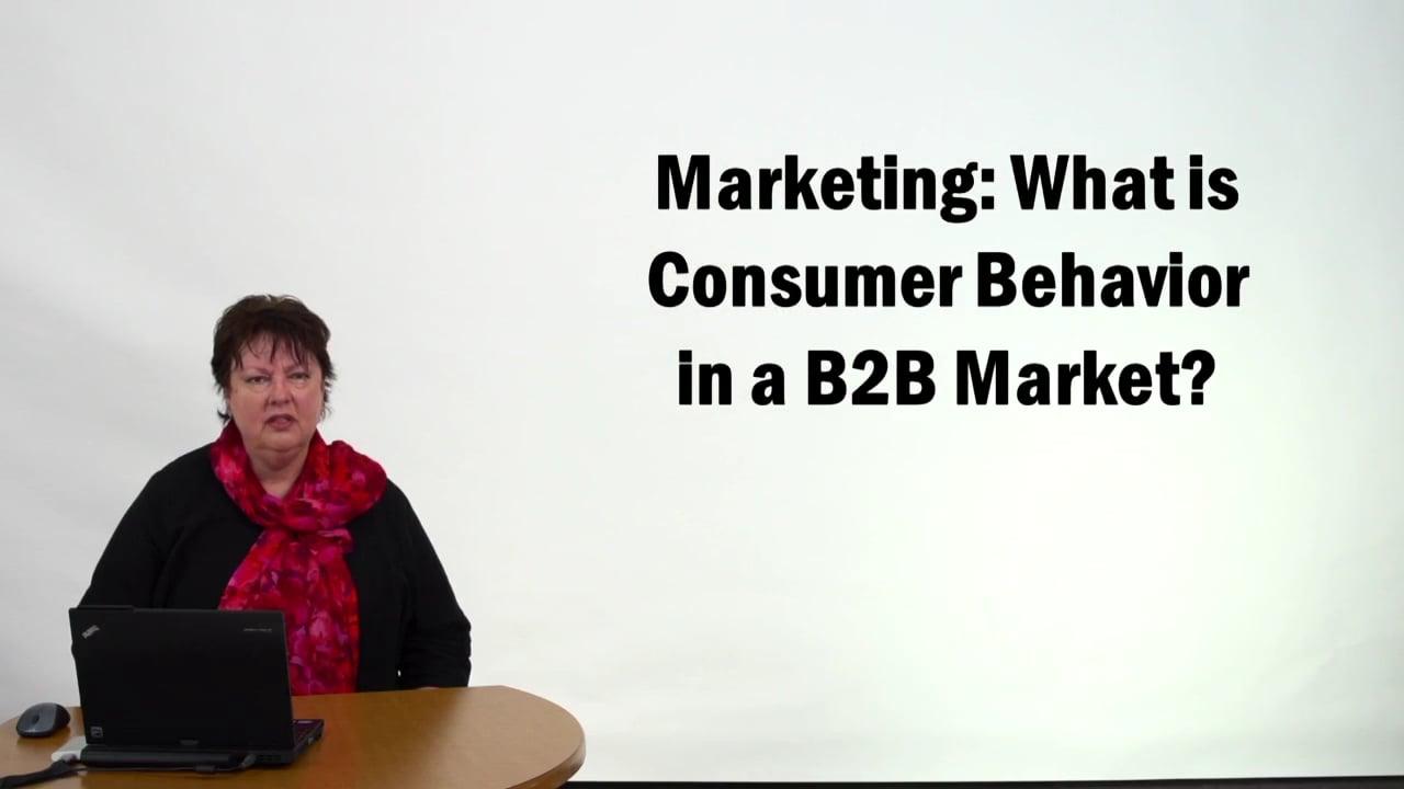 57296Marketing – What is Consumer Behavior in a B2B Market