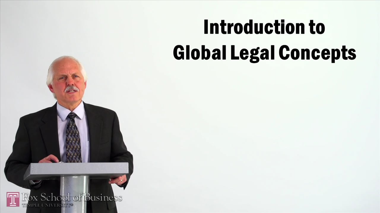 57005Introduction to Global Legal Concepts