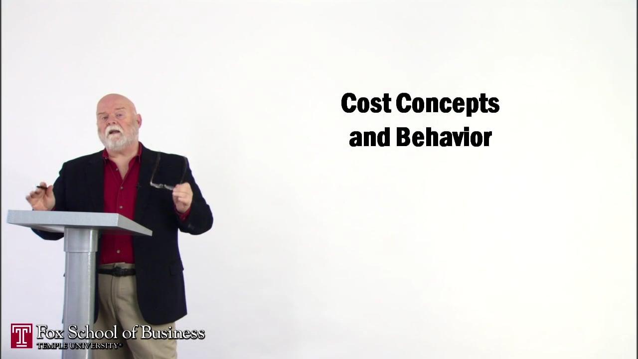 56829Cost Concepts and Behavior I
