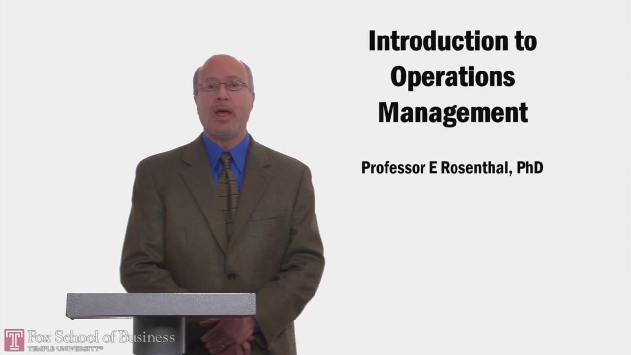 58203Introduction to Operations Management