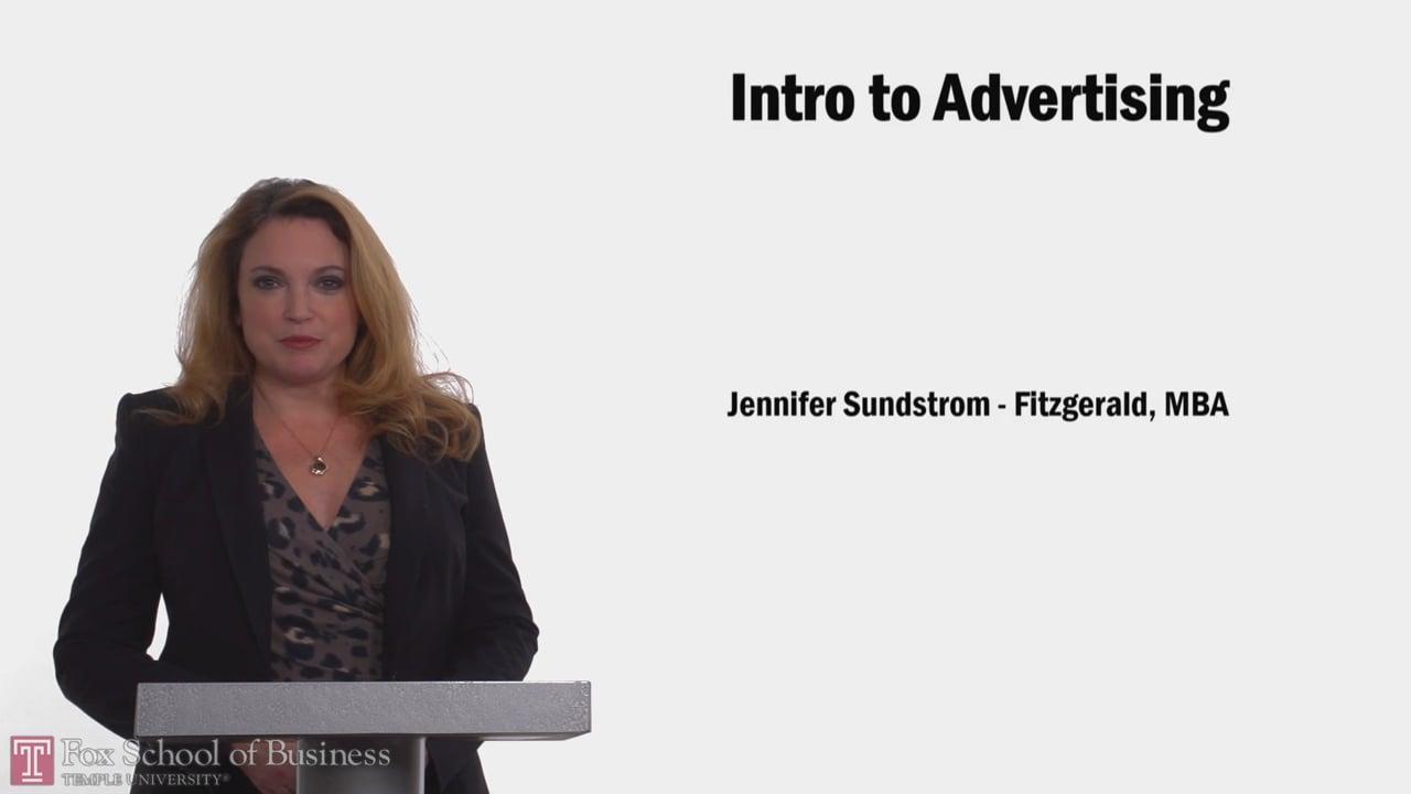 61108Intro to Advertising