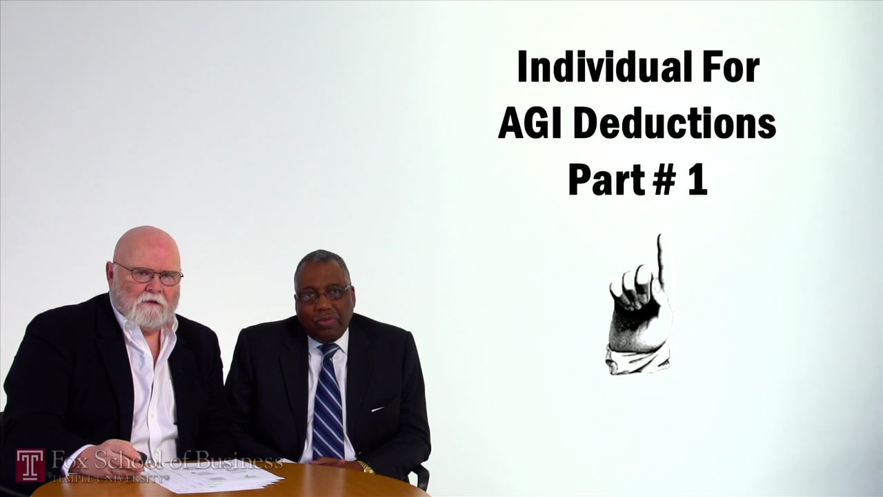 57069Individual For AGI Deductions Pt1