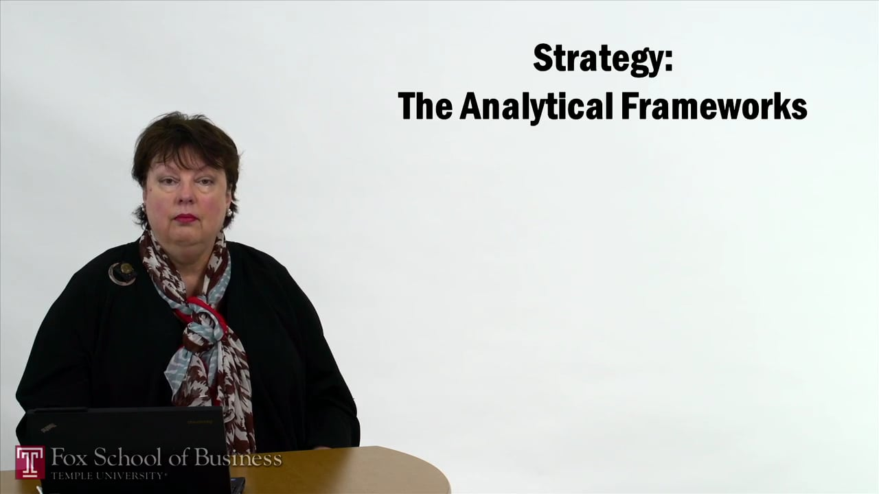 57331Strategy – The Analytical Frameworks