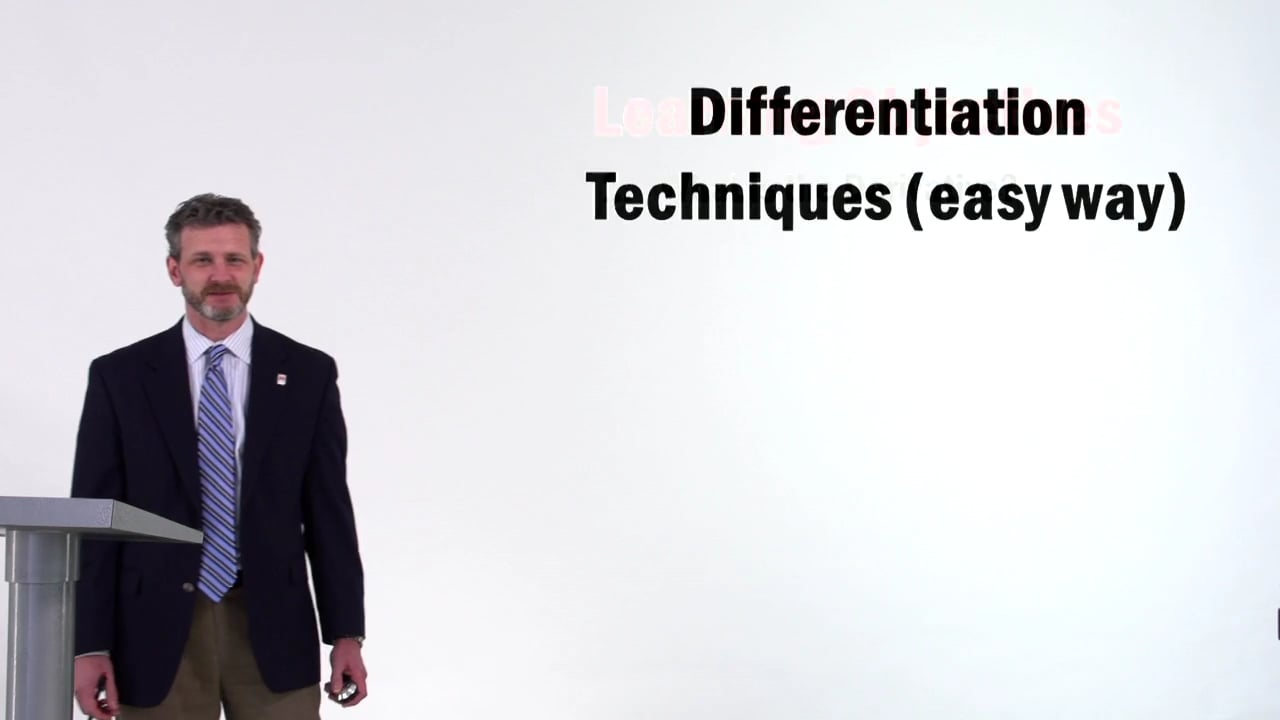 57128Differentiation Techniques – Easy Way