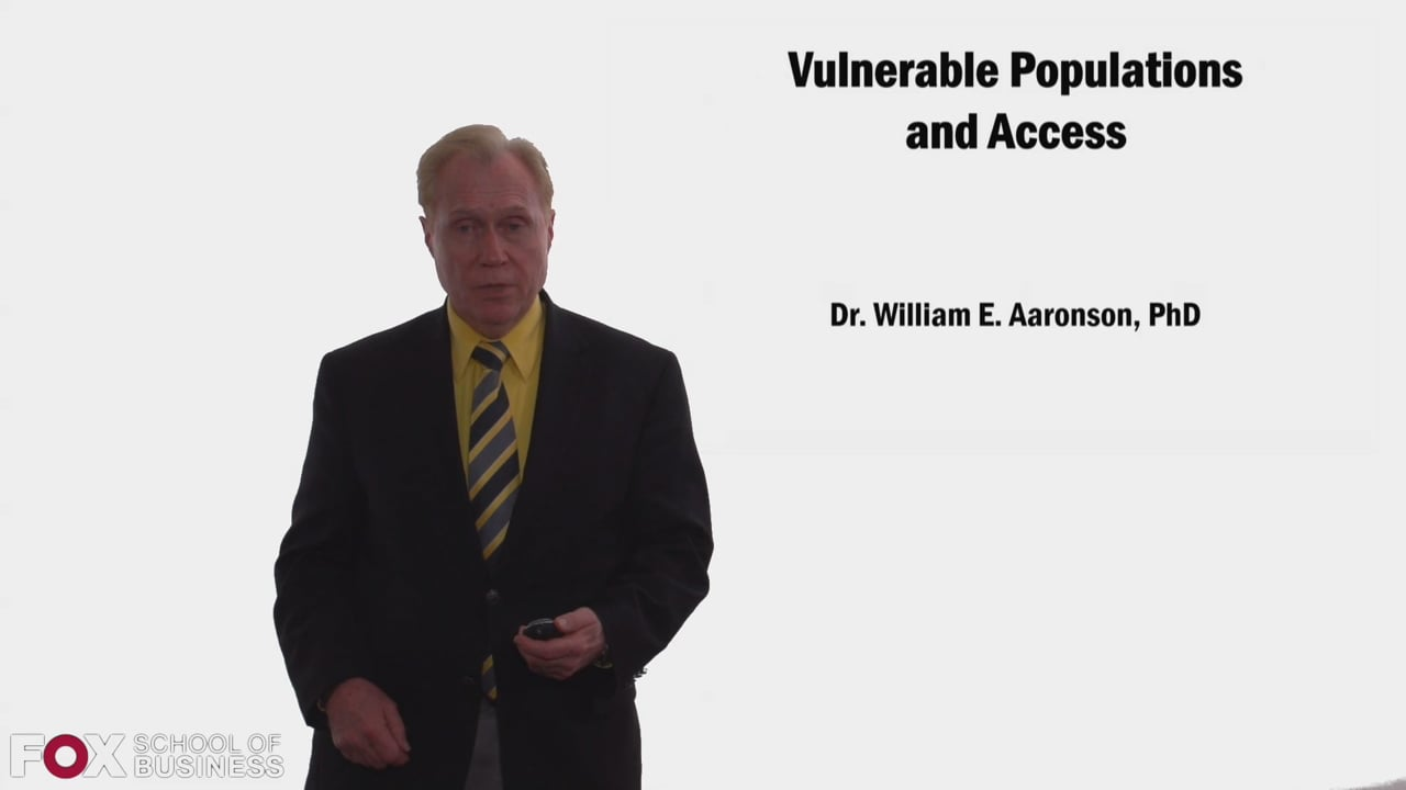 58351Vulnerable Populations and Access