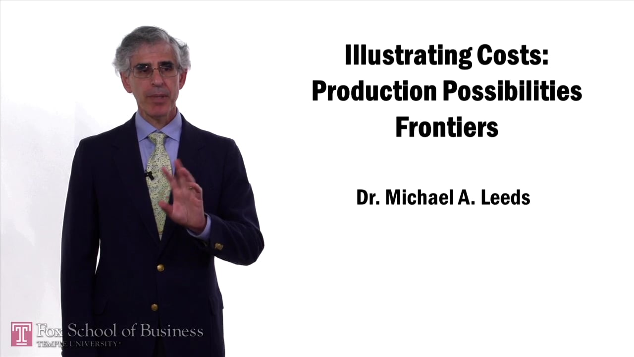 57627Illustrating Costs: Production Possibilities Frontiers