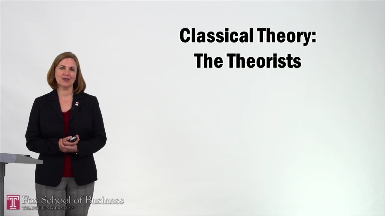 57344Classical Theory – The Theorists