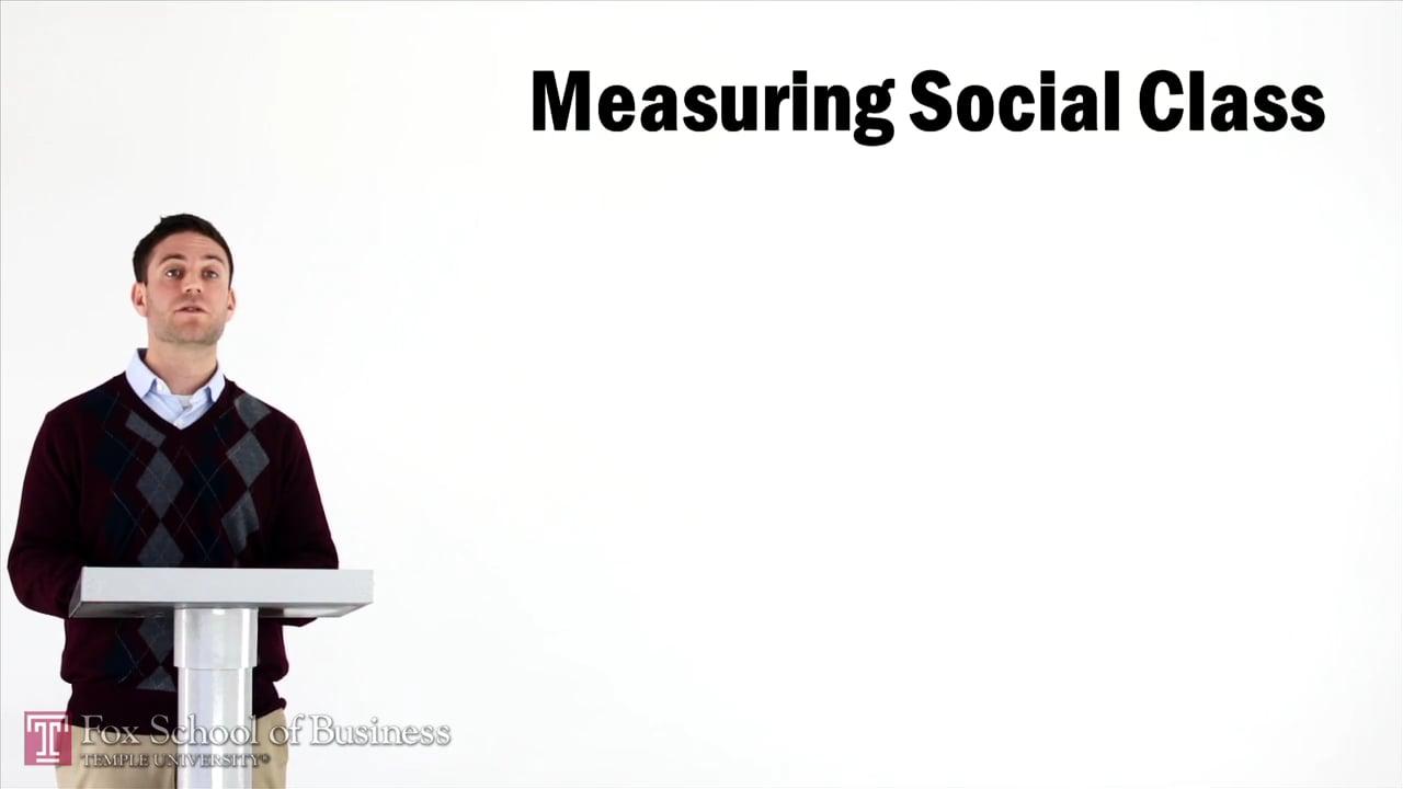 57029Measuring Social Class