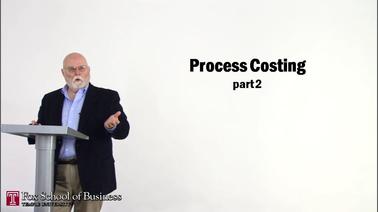 56840Process Costing II
