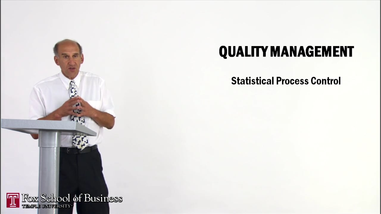 56966Quality Management I: Statistical Process Control