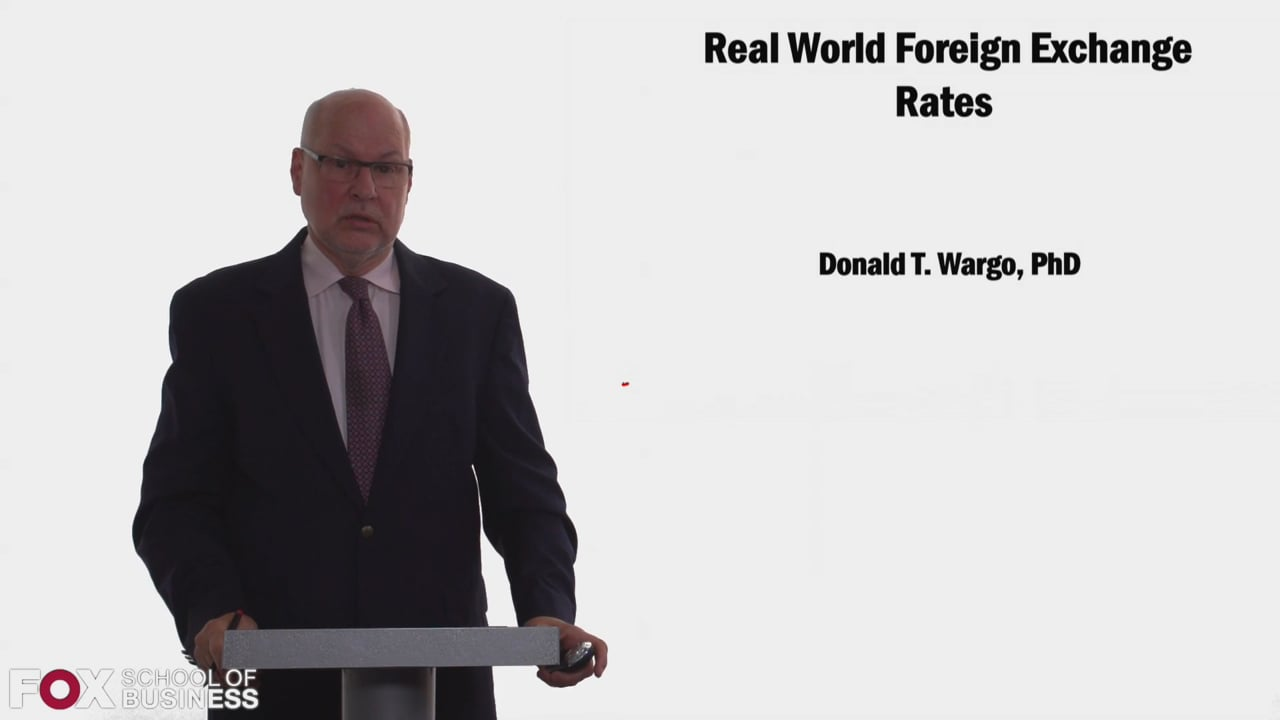 58332Real World Foreign Exchange Rates