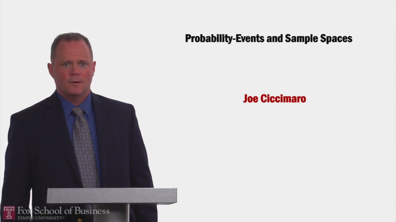58173Probability-Events and Sample Spaces