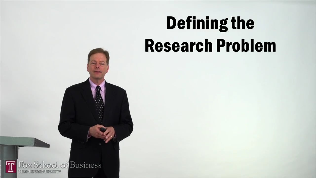57360Defining the Research Problem